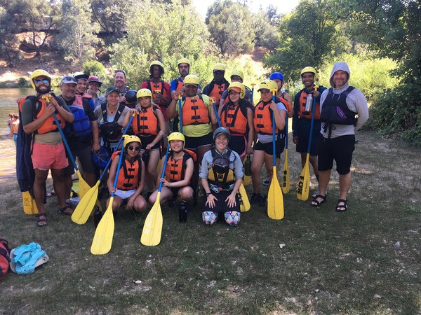 New Voices Youth on Rafting Trip